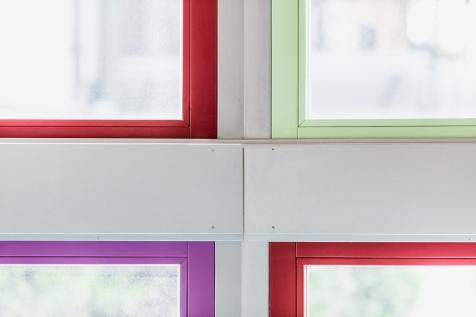 falegnameria cometti - vetrate fisse colorate