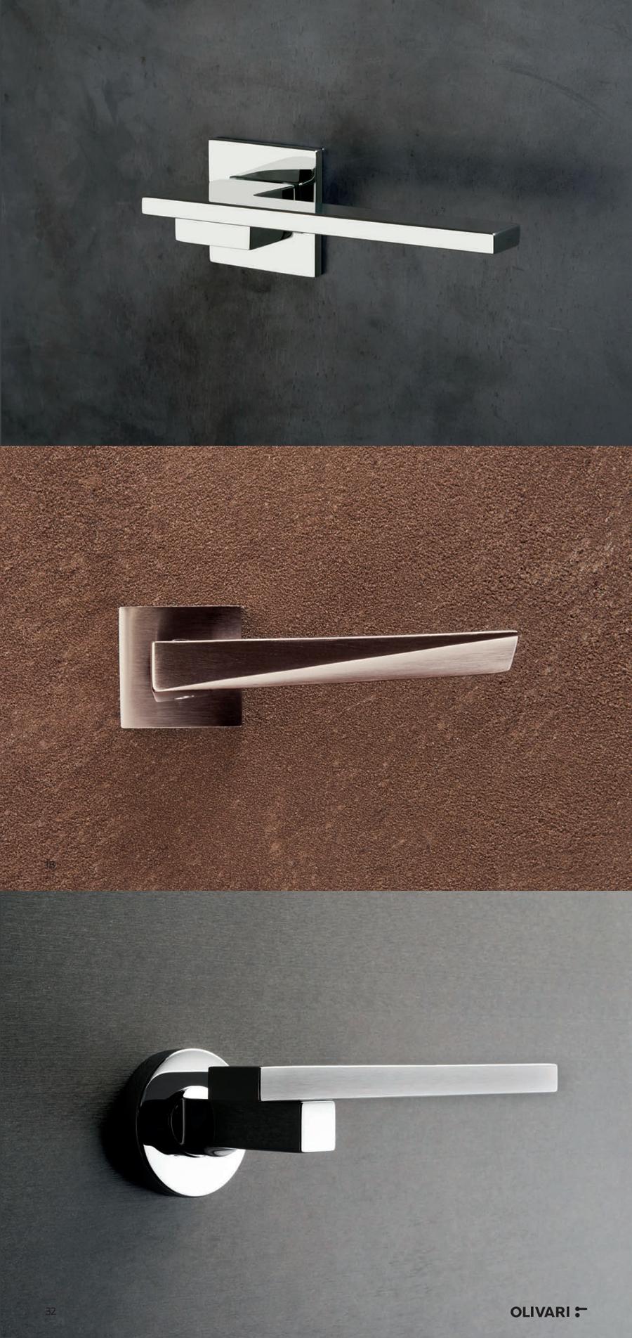 Maniglie Olivari Design 2020 Tendenze